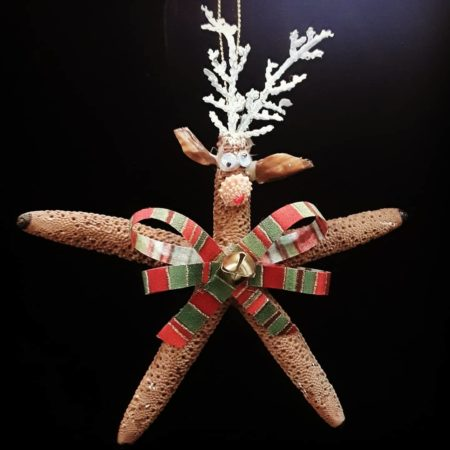 Fun Rudolph Christmas Ornament