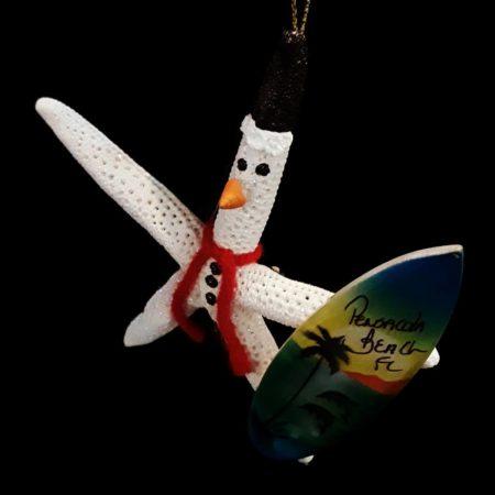 Surfin' snowman starfish!