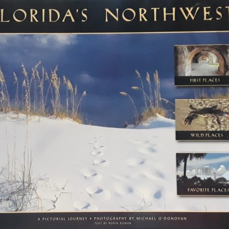 Great book filled with photographs taken by a local Pensacola Beach artist.