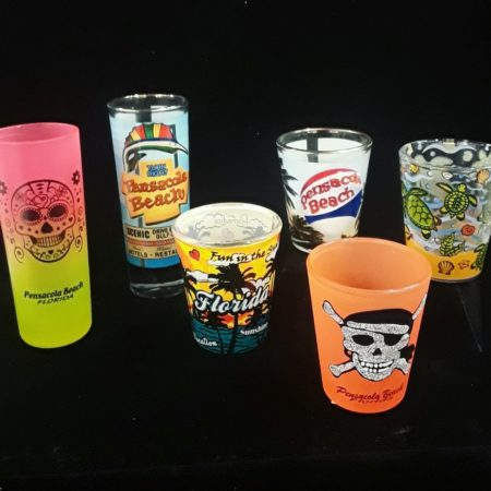 Tall and short shot glasses in many great styles.