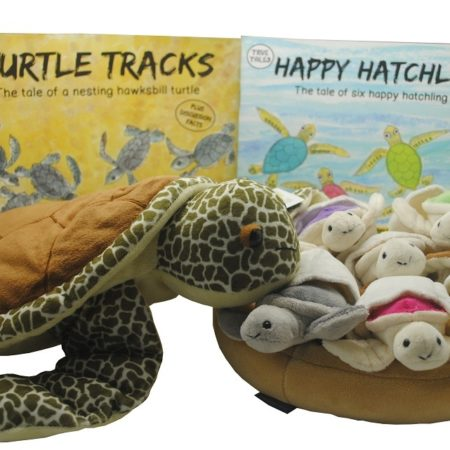 Turtle Tracks & Happy Hatchlings! We also carry the plushes that coordinate with each book!